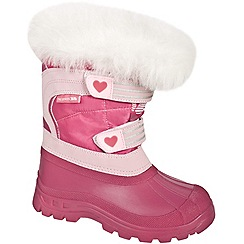 Trespass - Pink 'Frost' snow boot
