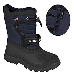 Trespass - Navy 'Kukun' snow boot