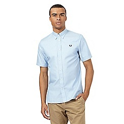 Fred Perry - Light blue twill shirt