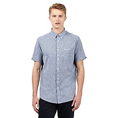 Ben Sherman - Blue textured shirt