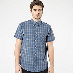 Ben Sherman - Blue fine gingham shirt
