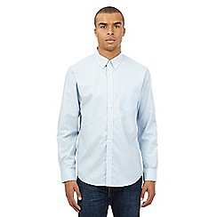 BEN SHERMAN - Light blue long sleeved shirt