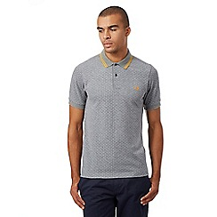 Fred Perry - Grey polka dot polo shirt