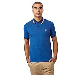 Fred Perry - Blue polka dot polo shirt