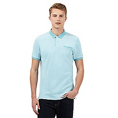 BEN SHERMAN - Light green polo shirt