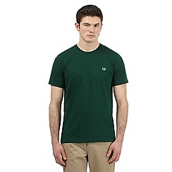 Fred Perry - Green logo applique t-shirt