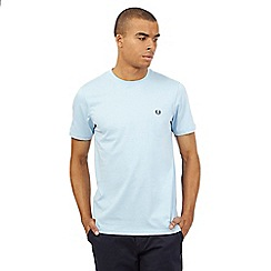 Fred Perry - Light blue slim fit t-shirt
