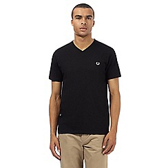 Fred Perry - Black V neck t-shirt