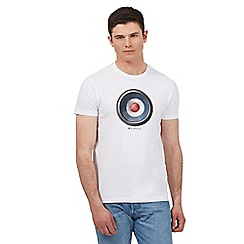 Ben Sherman - Big and tall white speaker print t-shirt