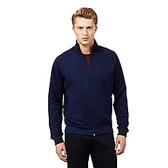 Fred Perry - Navy contrast track jacket