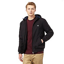 Fred Perry - Black quilted jacket