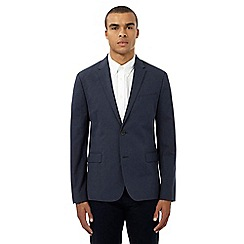 Ben Sherman - Navy single breasted blazer