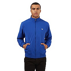 Fred Perry - Blue logo embroidered jacket