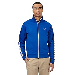 Fred Perry - Bright blue logo embroidered jacket