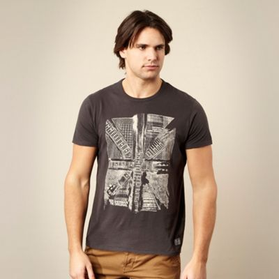 Dark grey guitar t-shirt