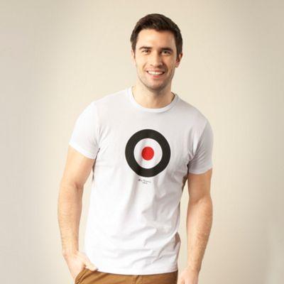 White target printed t-shirt