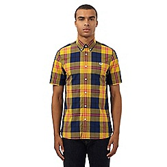 Fred Perry - Multi-coloured checked print shirt