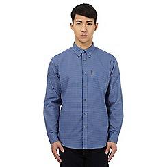 Ben Sherman - Blue button down checked shirt