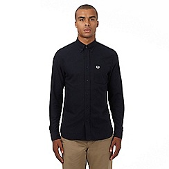 Fred Perry - Navy regular fit Oxford shirt