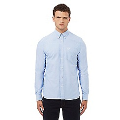 Fred Perry - Light blue regular fit Oxford shirt