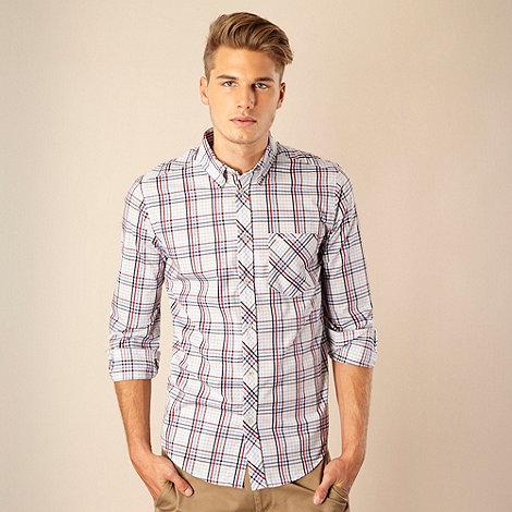 Ben Sherman - Lilac checked shirt