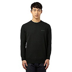 Ben Sherman - Green crew neck jumper