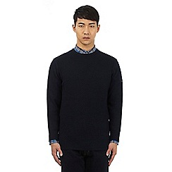 Ben Sherman - Navy blue crew neck jumper