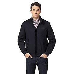 Ben Sherman - Big and tall navy harrington jacket