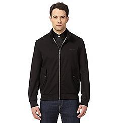 Ben Sherman - Big and tall black harrington jacket