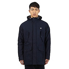 Fred Perry - Navy stitched logo jacket