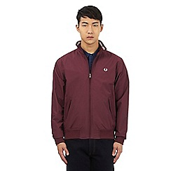 Fred Perry - Dark red zip jacket