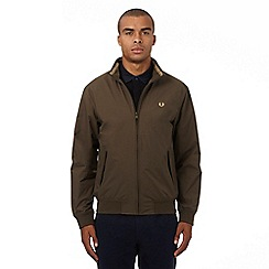 Fred Perry - Khaki logo applique jacket