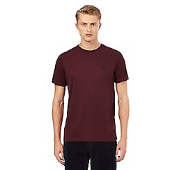 Fred Perry - Dark red t-shirt