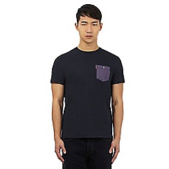 Ben Sherman - Navy blue crew neck t-shirt