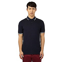 Fred Perry - Dark blue Oxford polo shirt