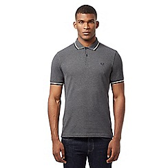 Fred Perry - Charcoal grey short sleeve polo shirt