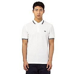 Fred Perry - White tipped polo shirt