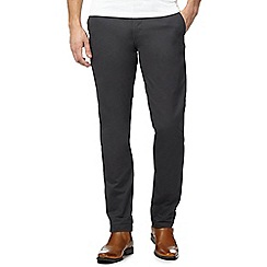 Ben Sherman - Dark grey regular fit chinos