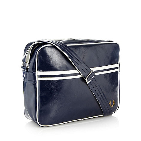 Fred Perry - Navy classic shoulder bag