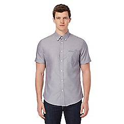Ben Sherman - Grey short sleeved Oxford shirt