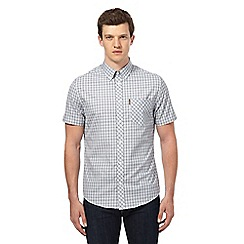 Ben Sherman - Grey gingham checked shirt