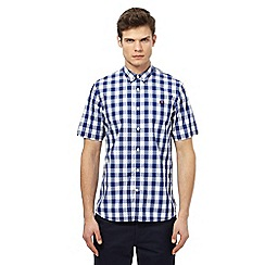 Fred Perry - Blue checked shirt