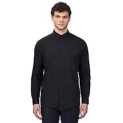 Ben Sherman - Big and tall black 'Oxford' button down shirt