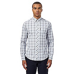 Ben Sherman - White checked shirt