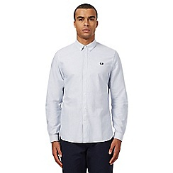 Fred Perry - White striped Oxford shirt