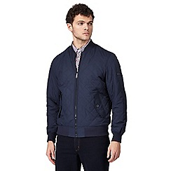 Ben Sherman - Navy quilted jacket