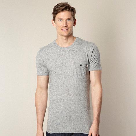 Farah 1920 - Light grey flecked pocket t-shirt