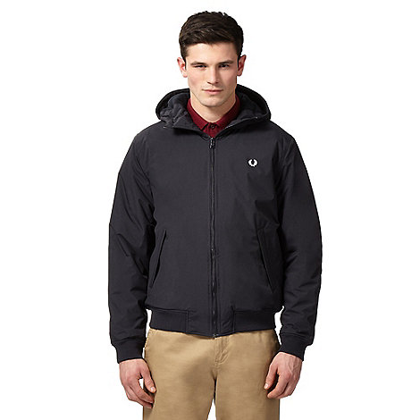 Fred Perry - Navy hooded jacket