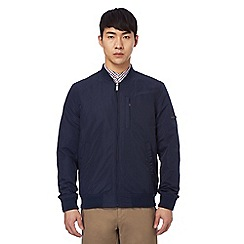 Ben Sherman - Big and tall navy bomber jacket
