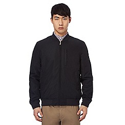 Ben Sherman - Big and tall black bomber jacket